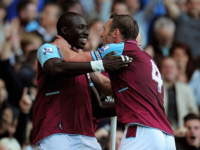 Mohamed Diame (l): On Arsenal's shopping list