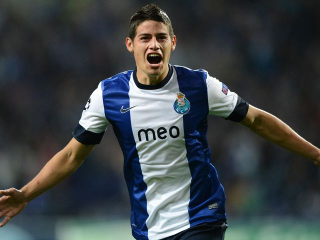 James Rodriguez: Valued at £36m by Porto