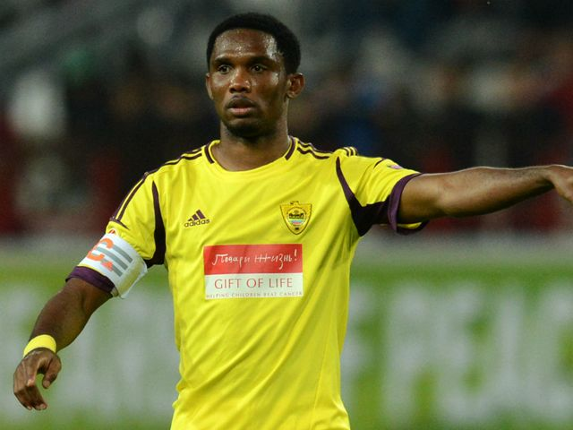Samuel Eto'o: Scored for Anzhi