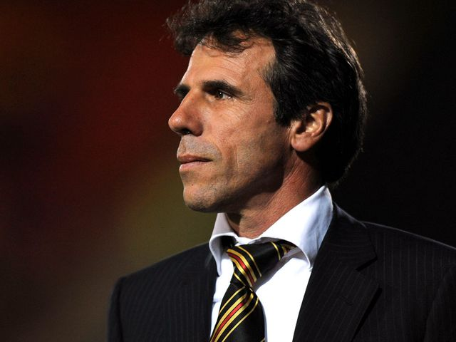 Zola: Hailed quality of young striker