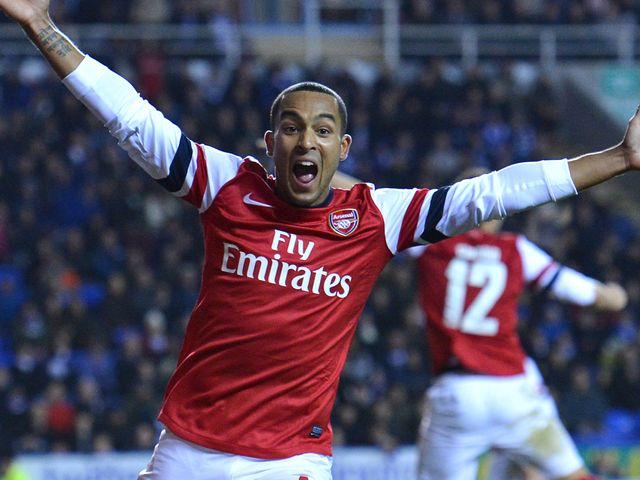 Walcott: Reported target for Liverpool