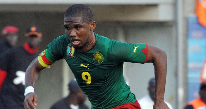 Samuel Eto'o: Striker failed to lead Cameroon to the 2013 Africa Cup of Nations finals