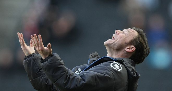 Dickov: Not too pleased