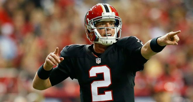 Matt Ryan: Threw for 369 yards and three touchdowns
