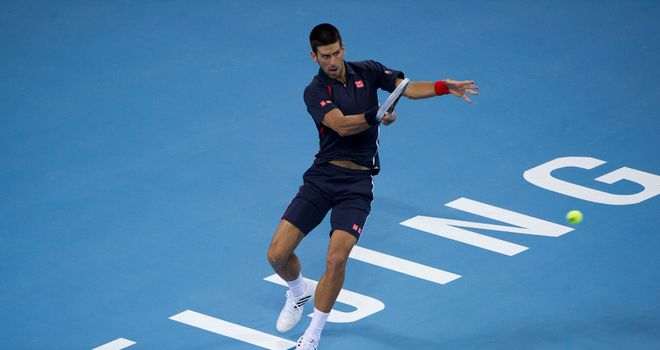 Novak Djokovic: Beat Carlos Berlocq 6-1 6-3 to reach the China Open quarter-finals