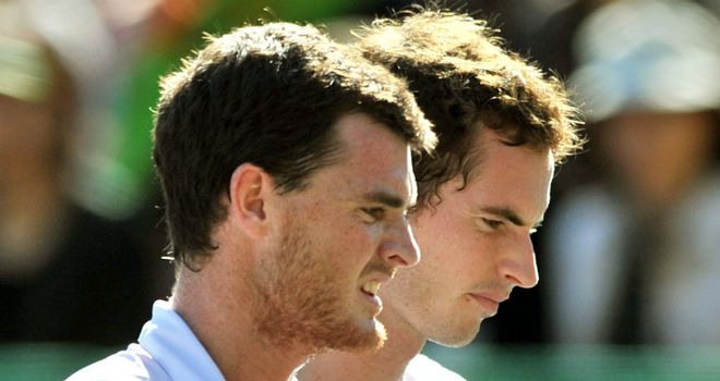 Jamie and Andy Murray are through to the second round