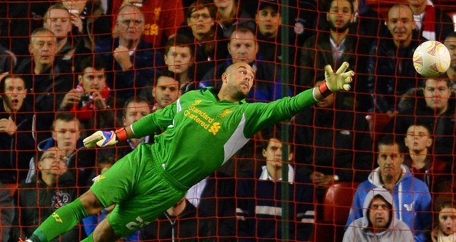 Pepe Reina: Liverpool goalkeeper returns to training