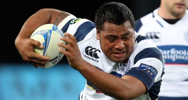 Pauliasi Manu: Has been ruled out of the 2013 Super Rugby season