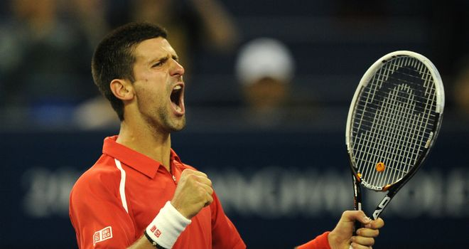 Novak Djokovic: Three Grand Slam finals in 2012