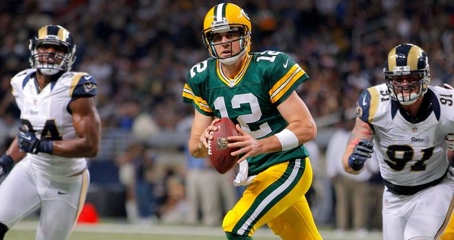 Aaron Rodgers: Will lead Green Bay's offense against Minnesota