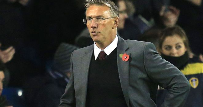 Nigel Adkins: Took responsibility for Southampton's defeat