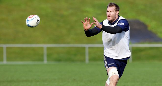 Ali Williams: Will skipper the Blues for 2013 Super Rugby season