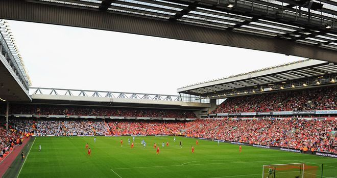 Anfield: Liverpool are always looking to bring top European talent into their youth ranks
