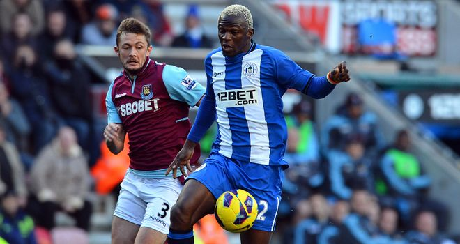 Roberto Martinez&#39;s Wigan side dominated Sam Allardyce&#39;s West Ham at the DW Stadium