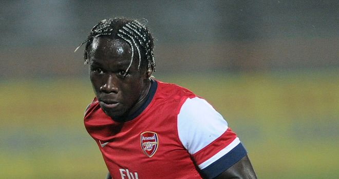 Bacary Sagna: Arsenal defender has challenged his team-mates to bounce back from Manchester City defeat