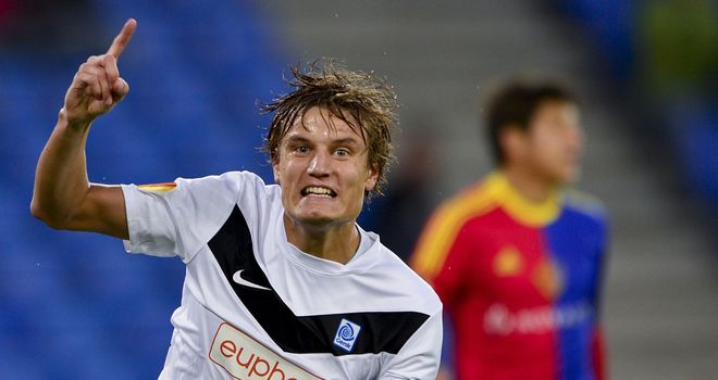 Jelle Vossen: Scored for Genk