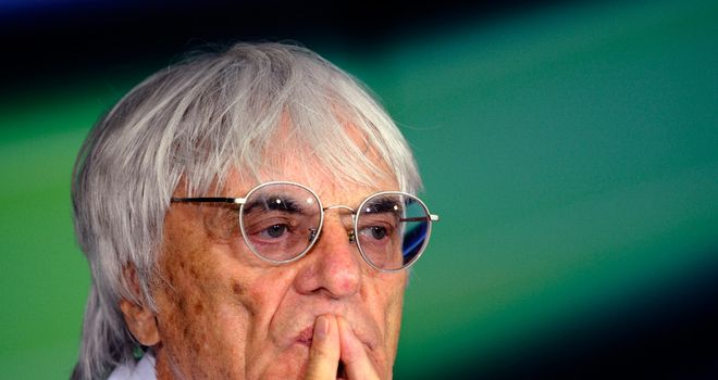 Bernie Ecclestone: Sure of his innocence