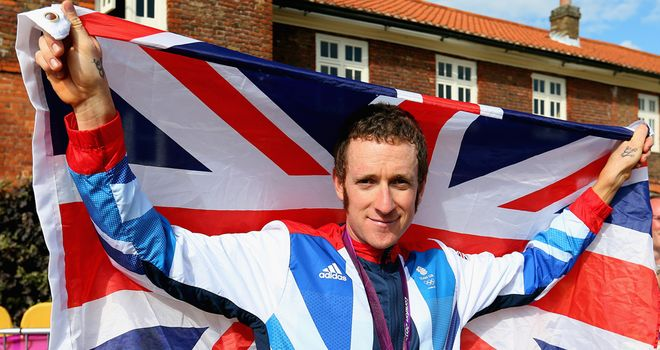 Bradley Wiggins: Currently the favourite to land the award for 2012