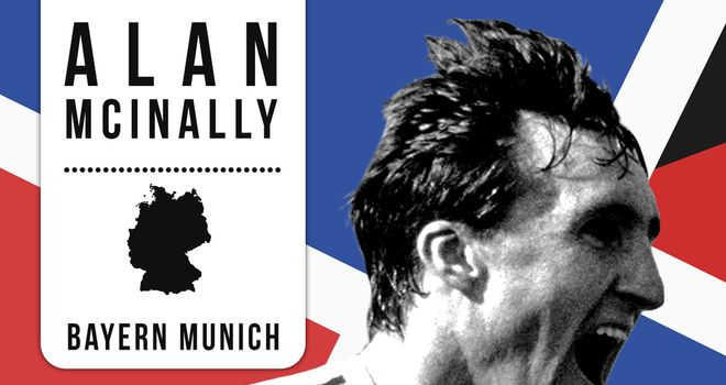 Alan McInally scored in a European Cup semi-final for Bayern Munich against AC Milan