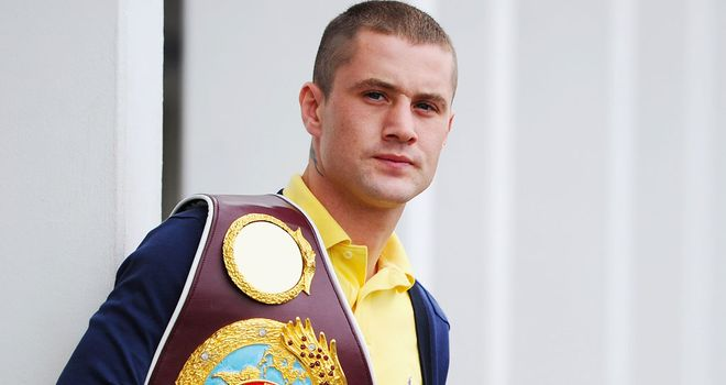 Ricky Burns: Defends his world title against replacement opponent Jose Ocampo