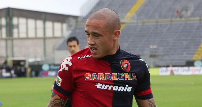 Radjia Nainggolan: On target in Cagliari win