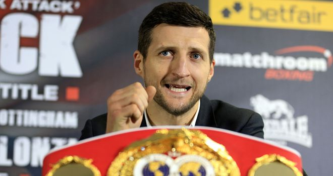 Carl Froch: confident he could beat Bute again, only this time in the Canadian's backyard