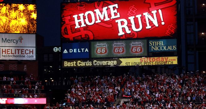Carlos Beltran: homered twice to help the Cardinals to a 12-4 win against the Nationals