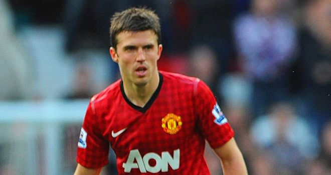 Michael Carrick: Determined to get his hands on the Premier League title