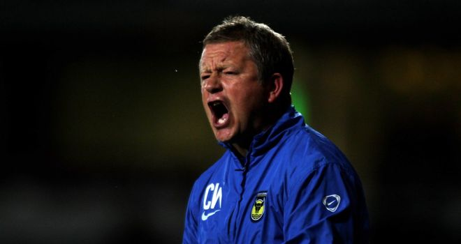 Chris Wilder: Brings in Ruffels to developmental squad