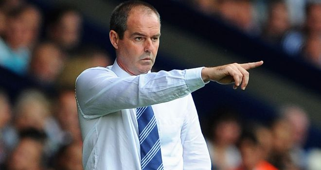 Steve Clarke: Delighted with the depth in West Brom's squad