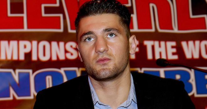Nathan Cleverly: Looking forward to stepping up in 2013