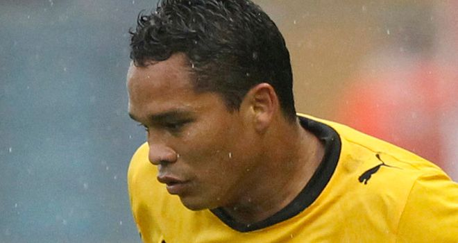 Carlos Bacca: On target for Sevilla