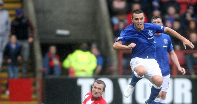 Chris Hegarty: Put pen to paper on new Rangers deal