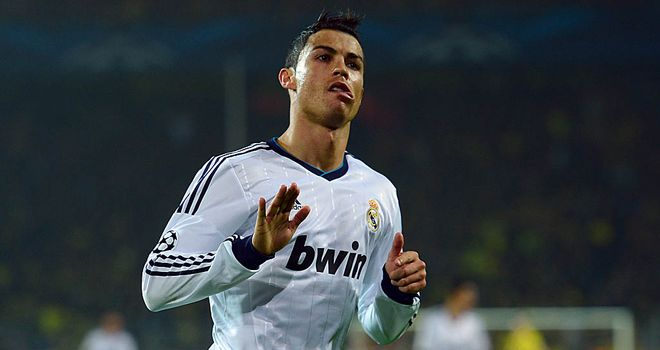 Cristiano Ronaldo: Netted for an eighth consecutive game for Real
