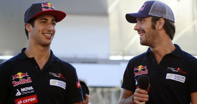 Ricciardo and Vergne: Staying on for 2013