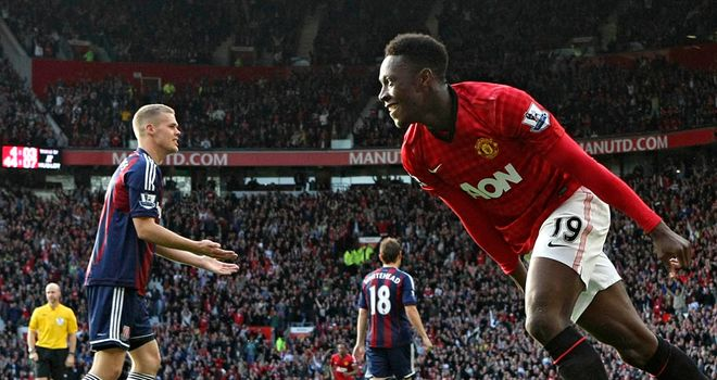Danny Welbeck: Only a bit-part player at Manchester United this term