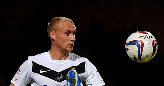David Cotterill: Scored Rovers' second goal
