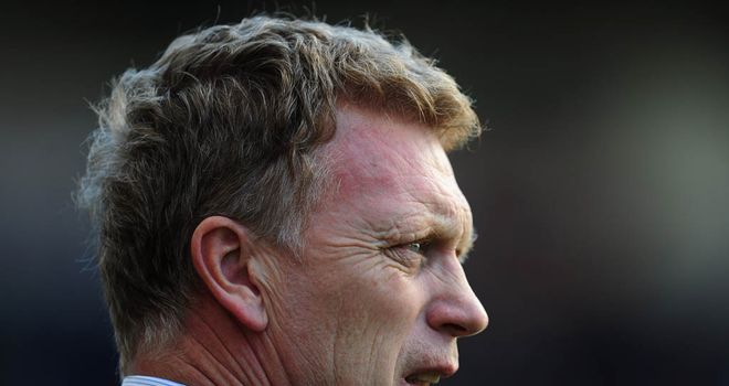 David Moyes: Felt key decisions went against his side in the draw with Arsenal