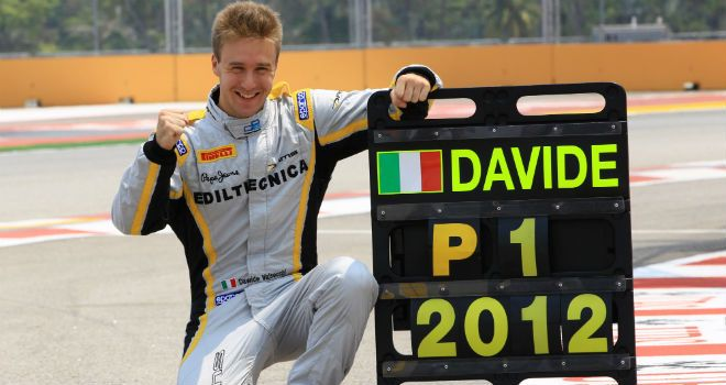 GP2 Champion Davide Valsecchi will test for Lotus in Abu Dhabi