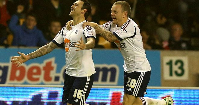 Mark Davies: Bolton midfielder facing 10 months out