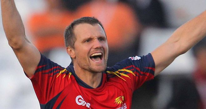 Dirk Nannes: Will team up with Glamorgan