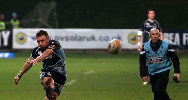Duncan Weir: Glasgow fly-half played a key role in victory over Cardiff Blues