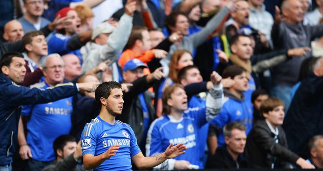 Eden Hazard: Must make more effort to stay on his feet, says Roberto Di Matteo