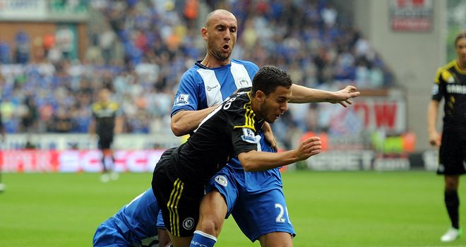 Hazard: most fouled player this season