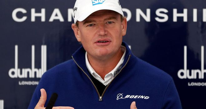 Ernie Els returns to Britain for Links Championship