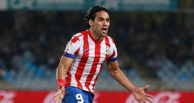 Falcao: Atletico Madrid striker not ruling out a move to Paris Saint-Germain