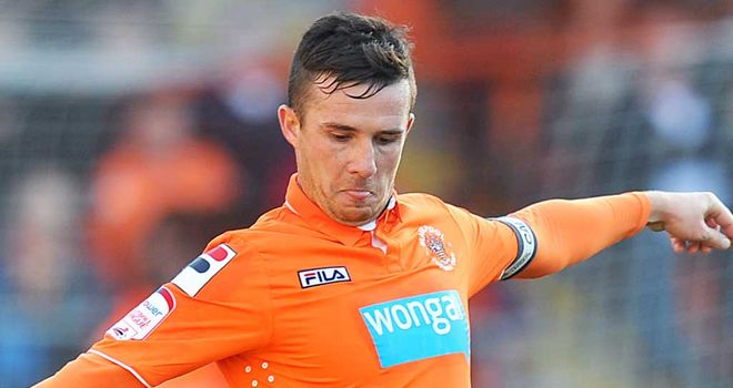 Barry Ferguson: Close to agreeing a new deal at Blackpool