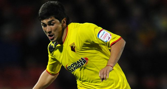 Fernando Forestieri: Committed to Watford until 2018