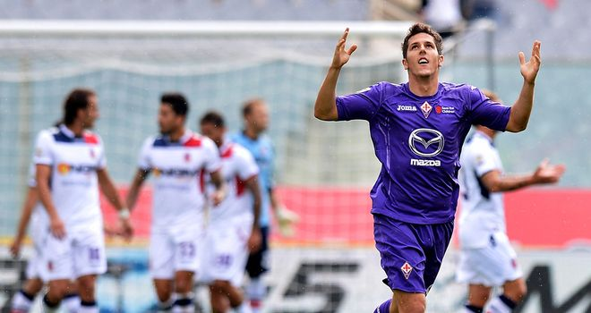 Stevan Jovetic: On target in Viola win