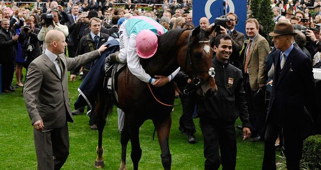 Frankel: Will stand at £125,000 in his first season at stud
